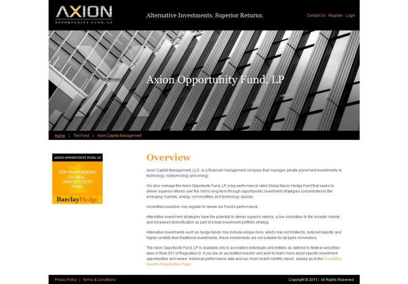 Axion-Fund