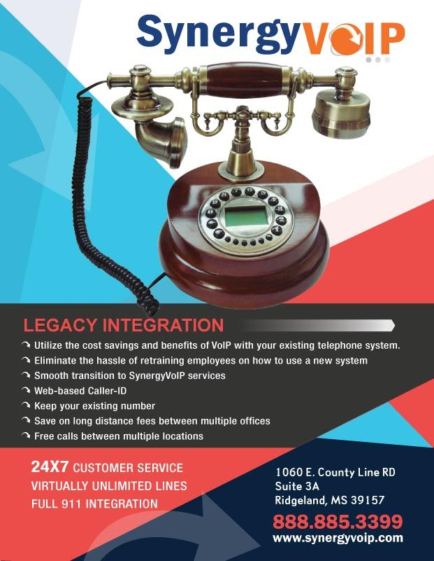Legacy Voip Flyer