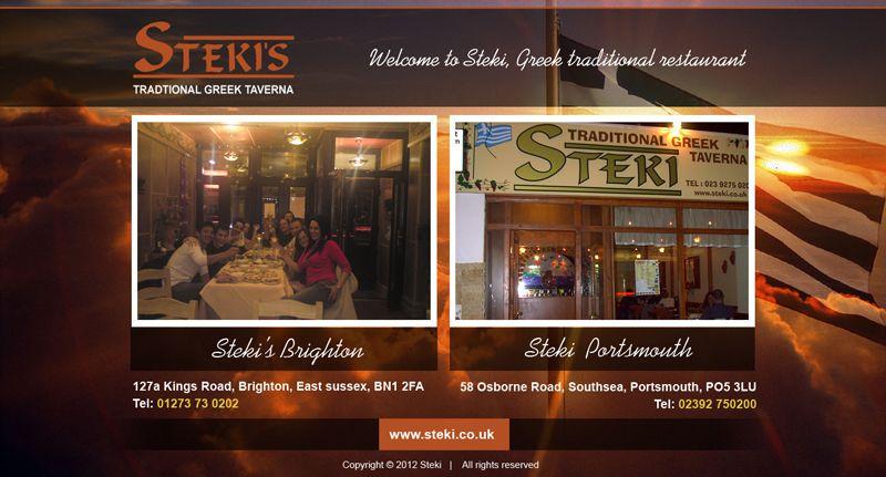Steki-Homepage